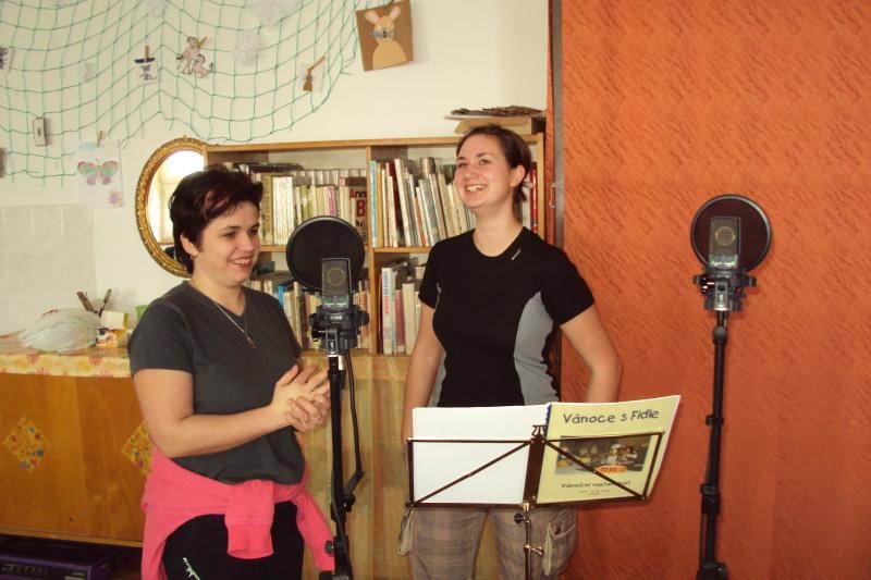 """Fidle natáčí CD """"Nastal nám den veselý"""""""